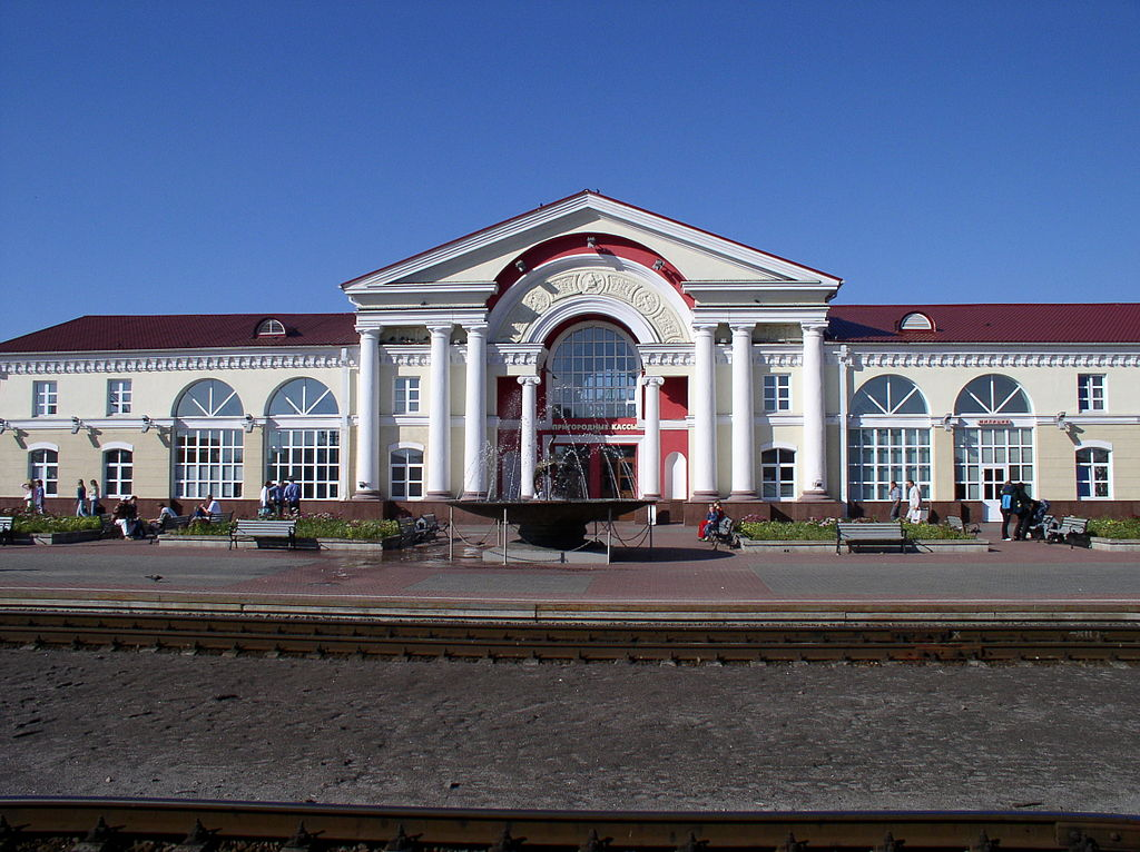 Железнодорожный вокзал Полоцк